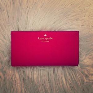 Kate Spade Cedar Street Stacy Wallet - Pink